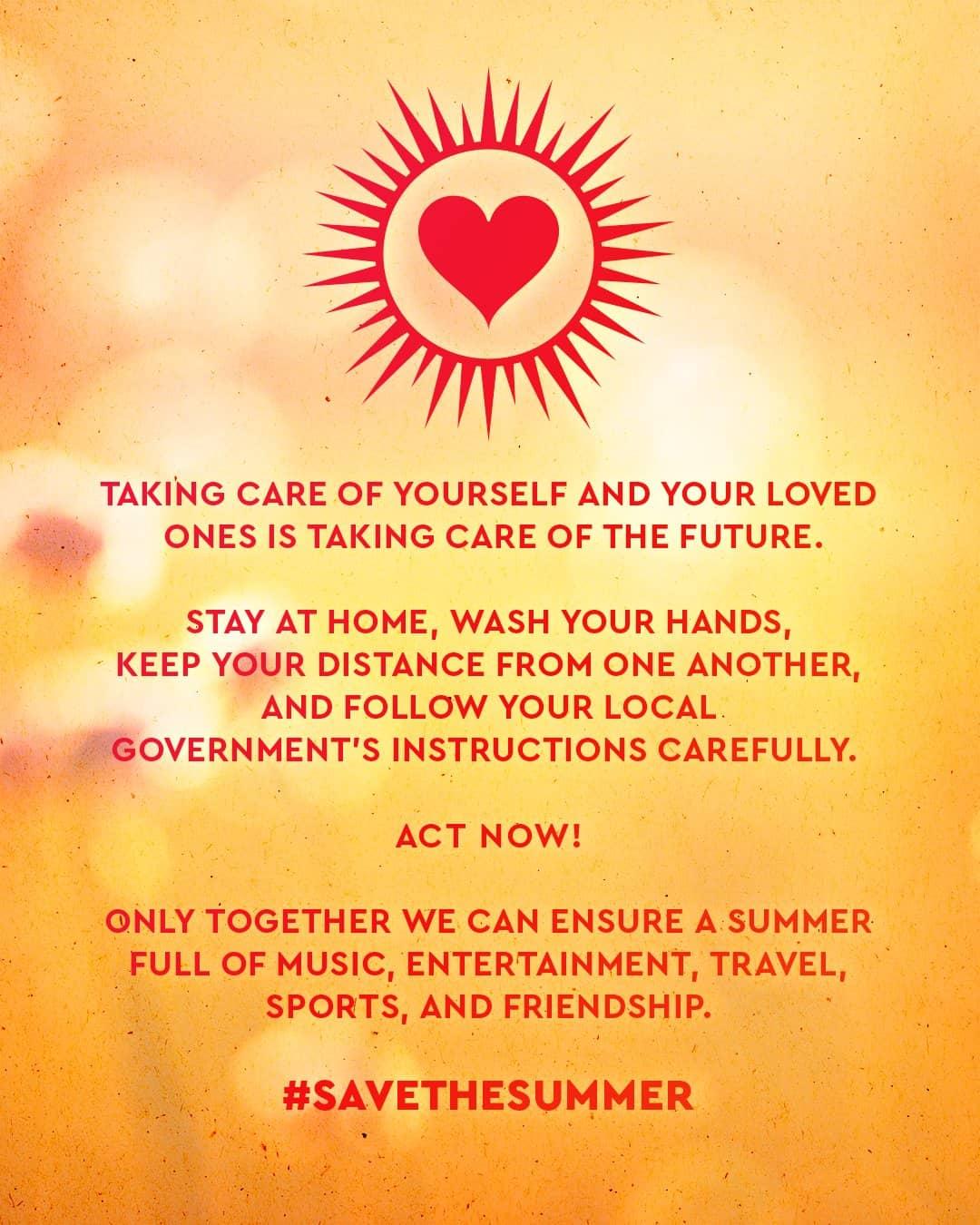 #SAVETHESUMMER Poster