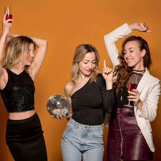 Girls Dancing Dance Music