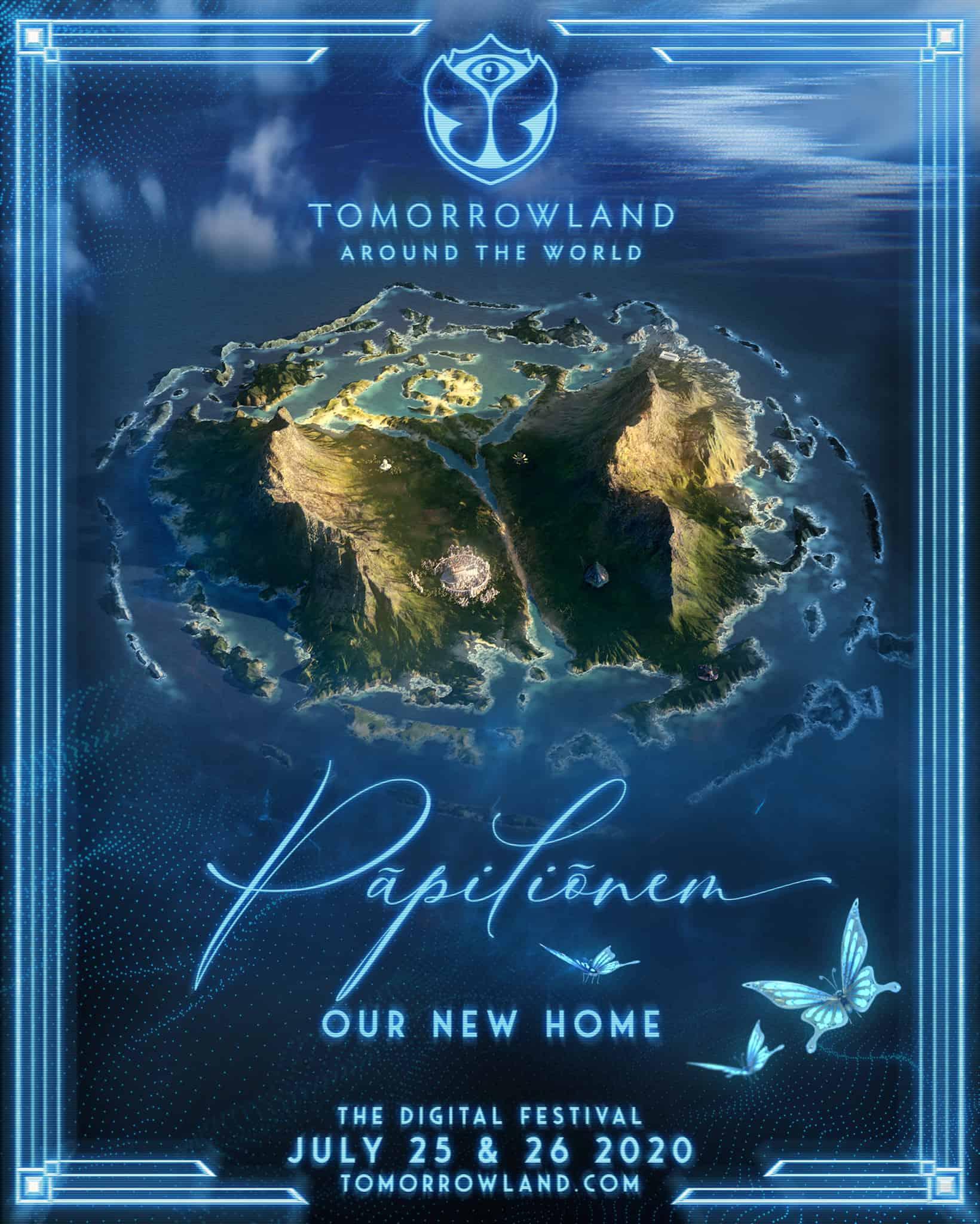 Tomorrowland Around the World - Pāpiliōnem - Announcement 1