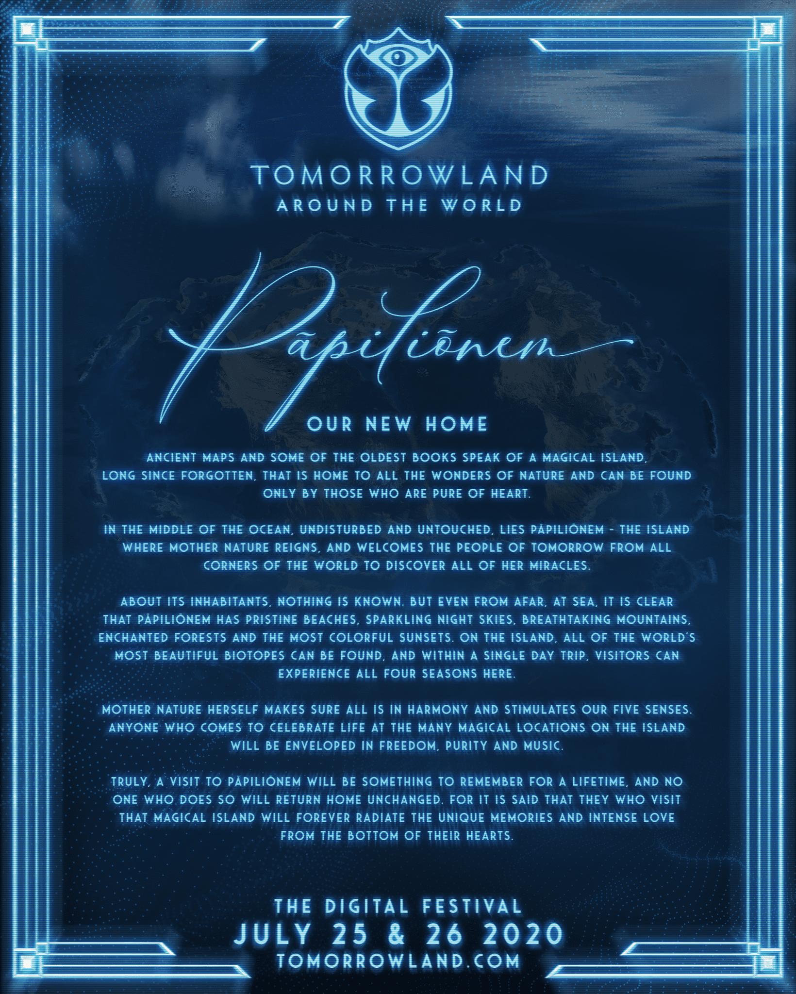 Tomorrowland Around the World - Pāpiliōnem - Announcement 2