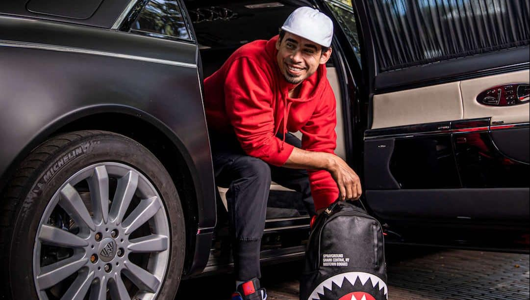 Afrojack Shark Backpack