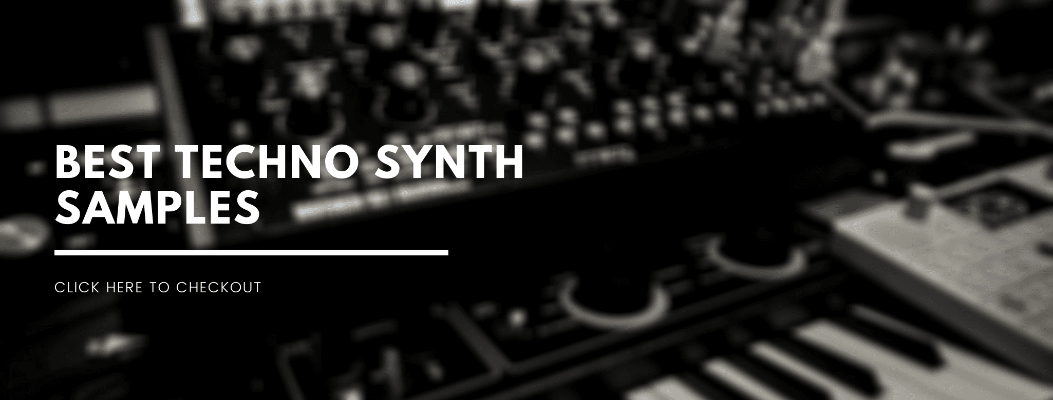 best techno synth samples