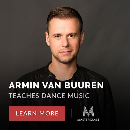 Armin Van Burren Masterclass