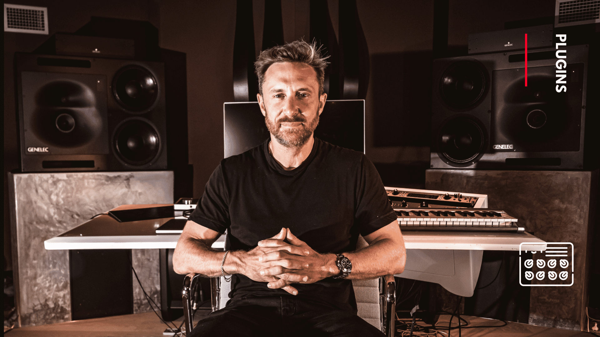 List of plugins currently used by David Guetta