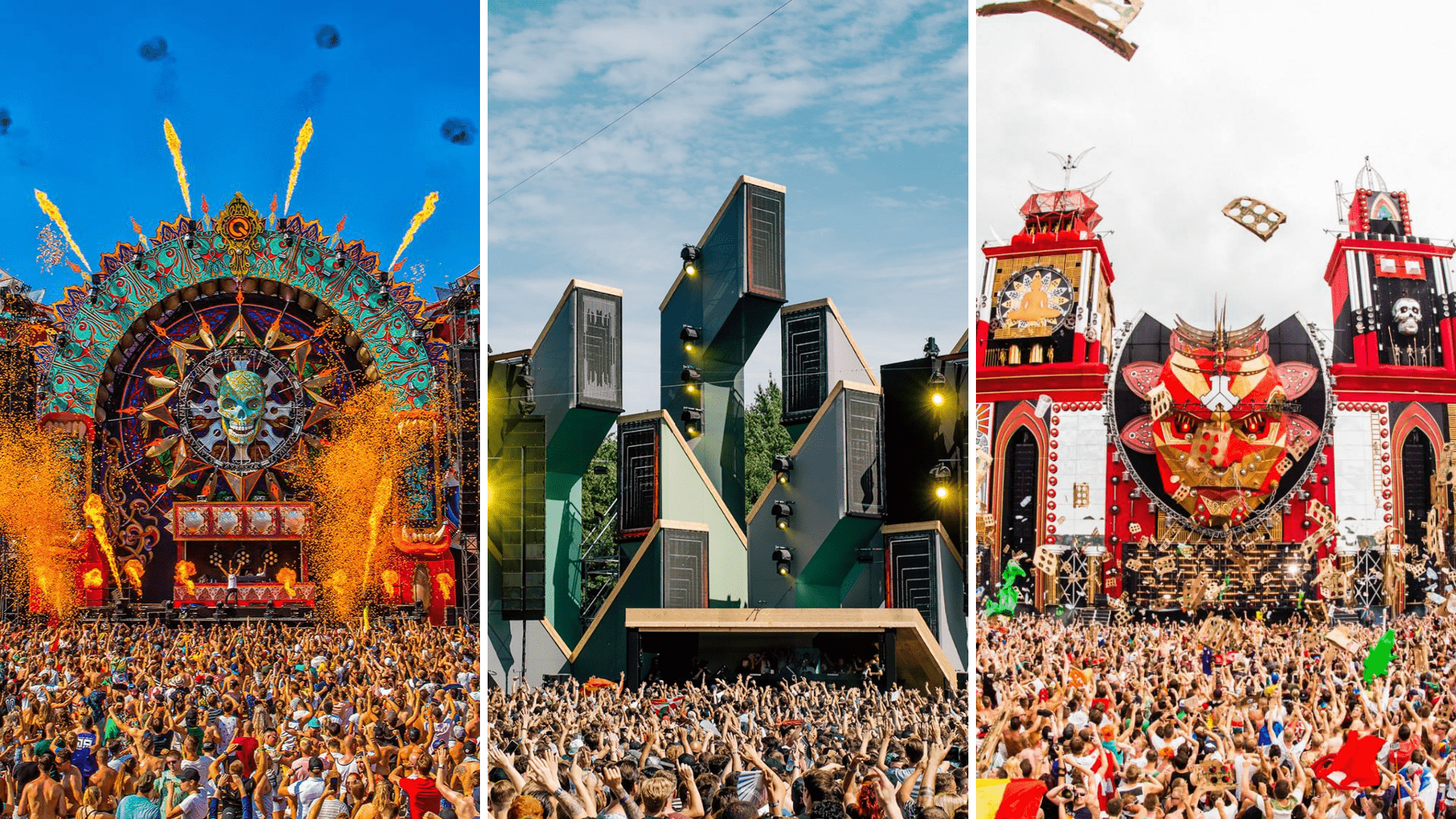 Mysteryland, Defqon1, Awakenings