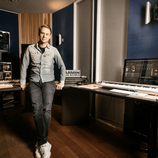 Armin Van Buuren teaches how to build a home studio