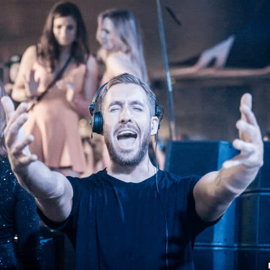 Calvin Harris at Hakkasan 2015