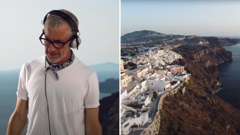 Tony, Above & Beyond, Santorini
