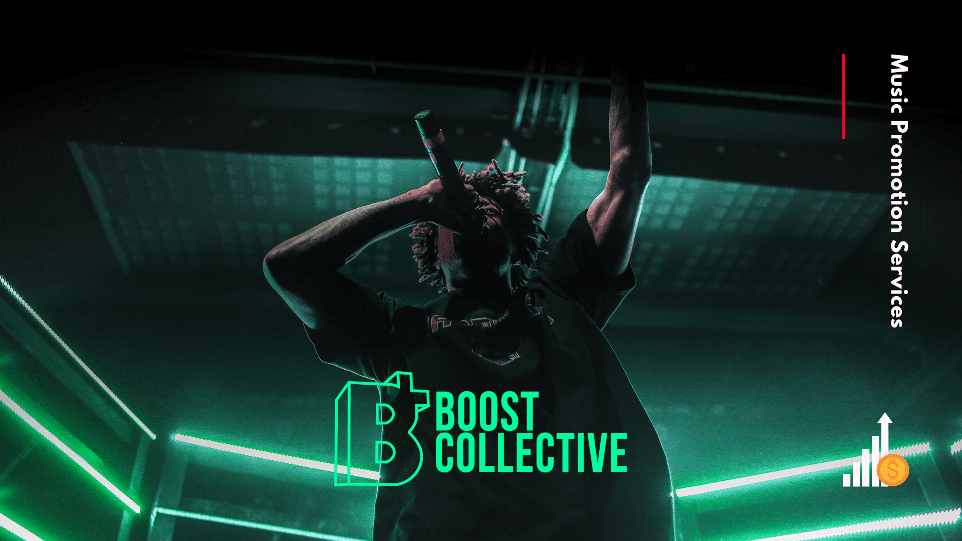 boost collective music promotion services