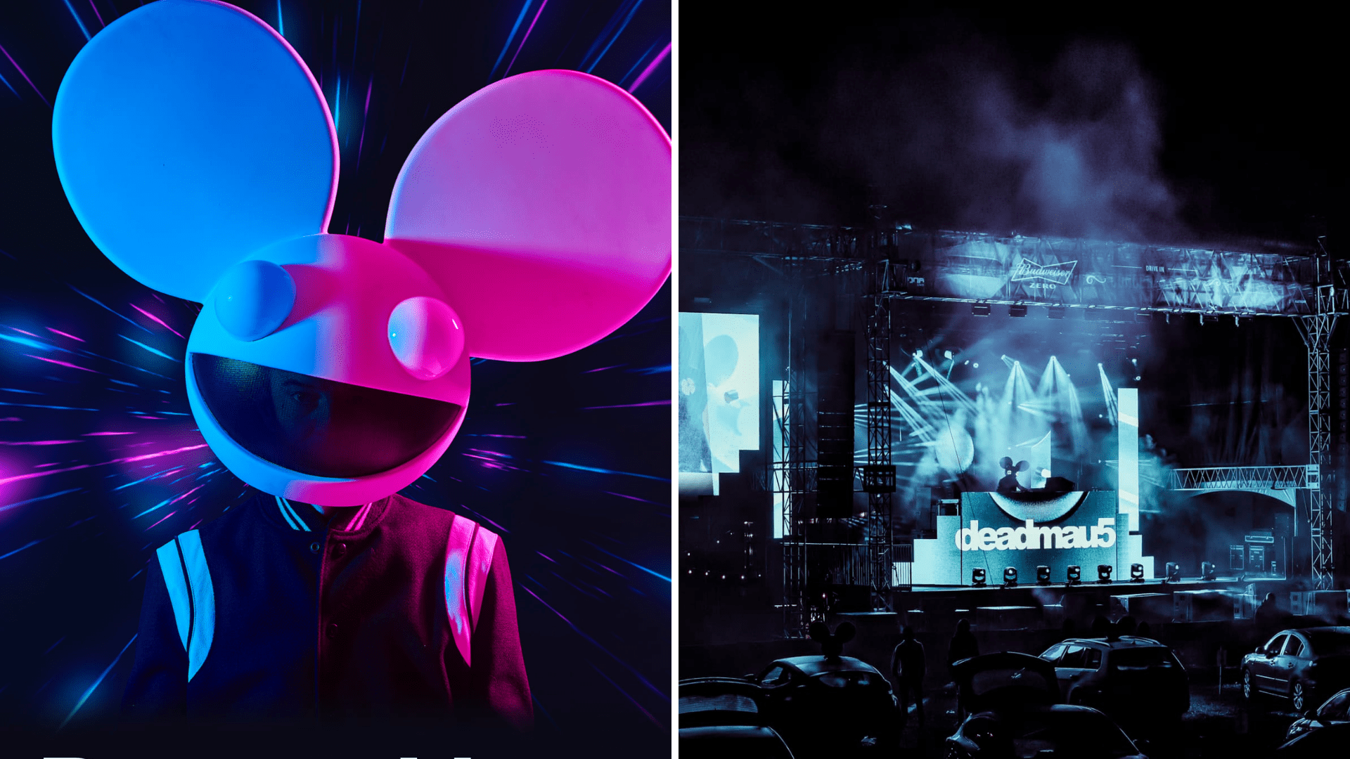 deadmau5 drive-in event