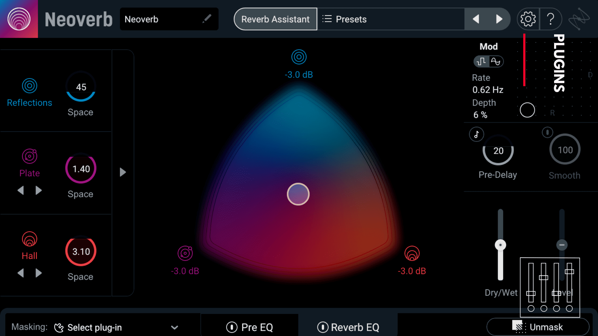 iZotope Neoverb reverb