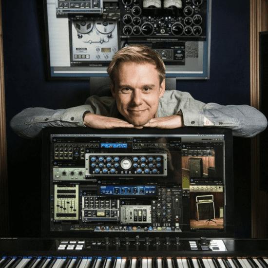 Armin Van Buuren teaches how he organizes his music projects