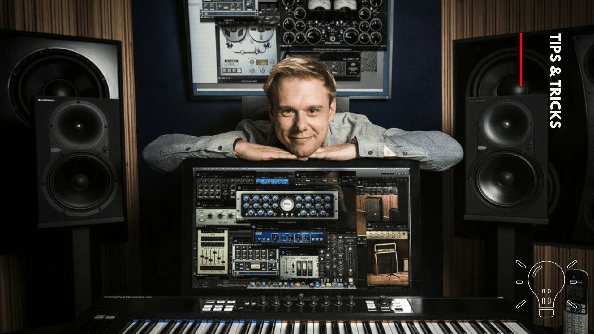 Armin Van Buuren teaches how he organizes his music projects