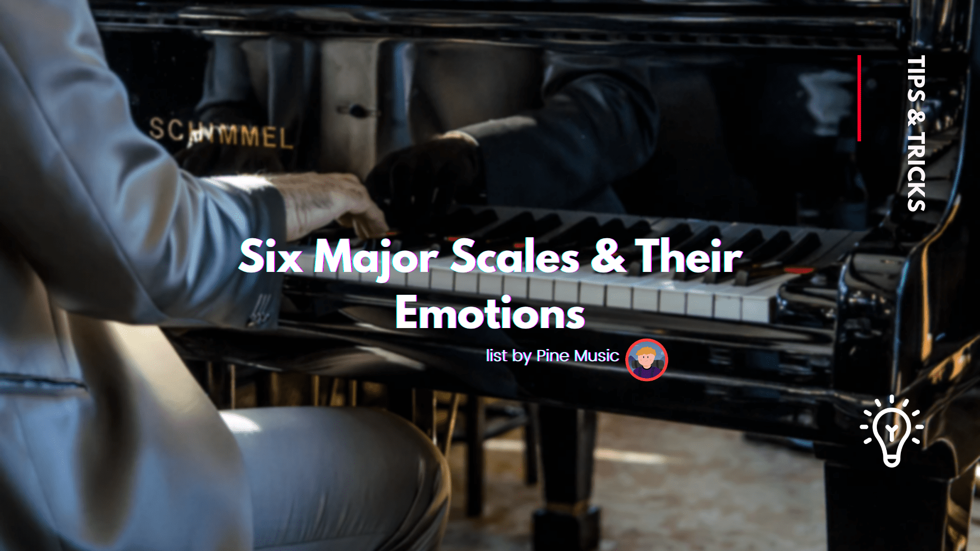 six major scales and their emotions