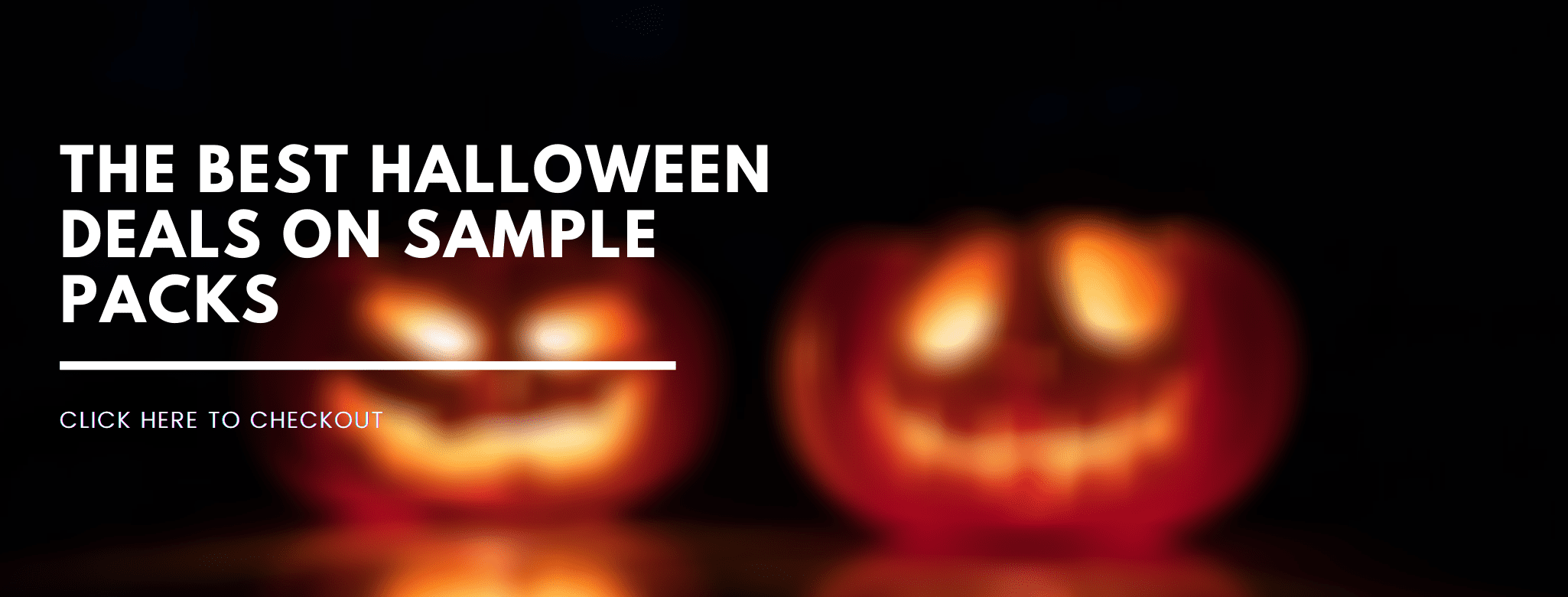 the best halloween deals on sample packs