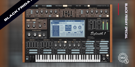 Black Friday 2020: Sylenth1 is available for 25% OFF