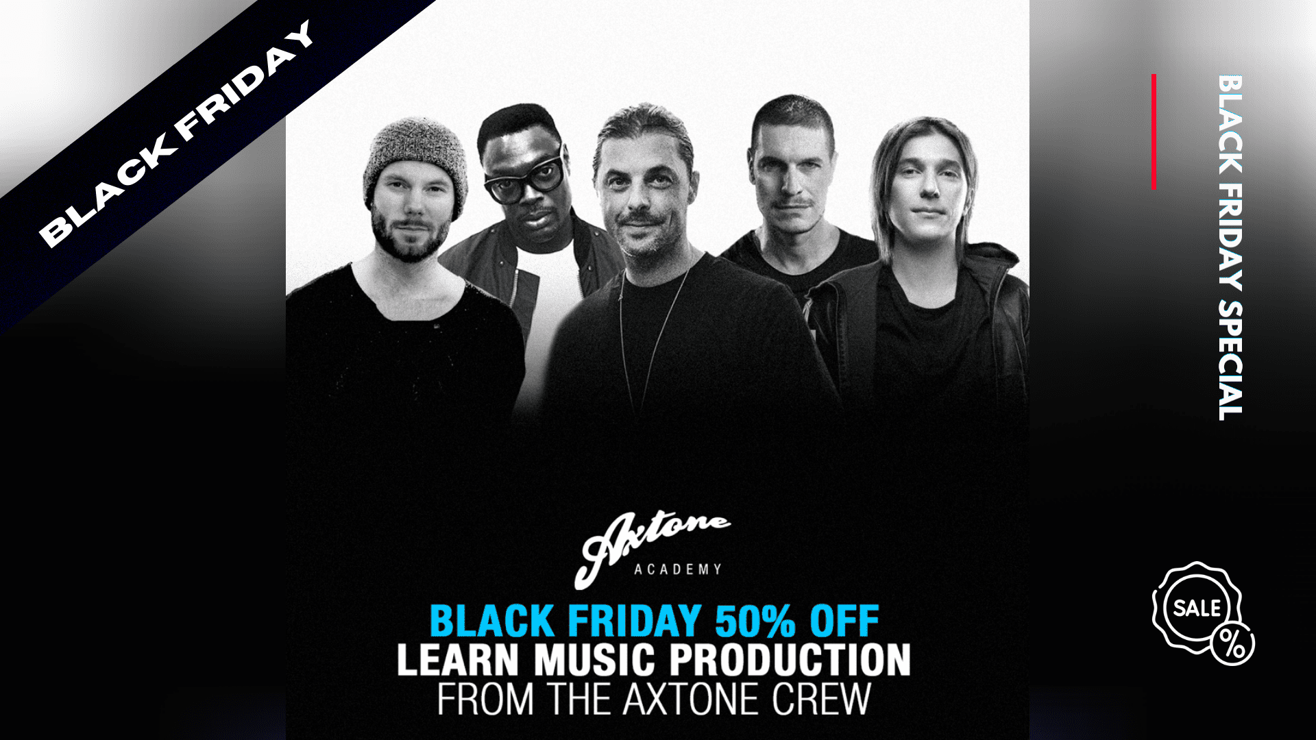 black friday axtone academy