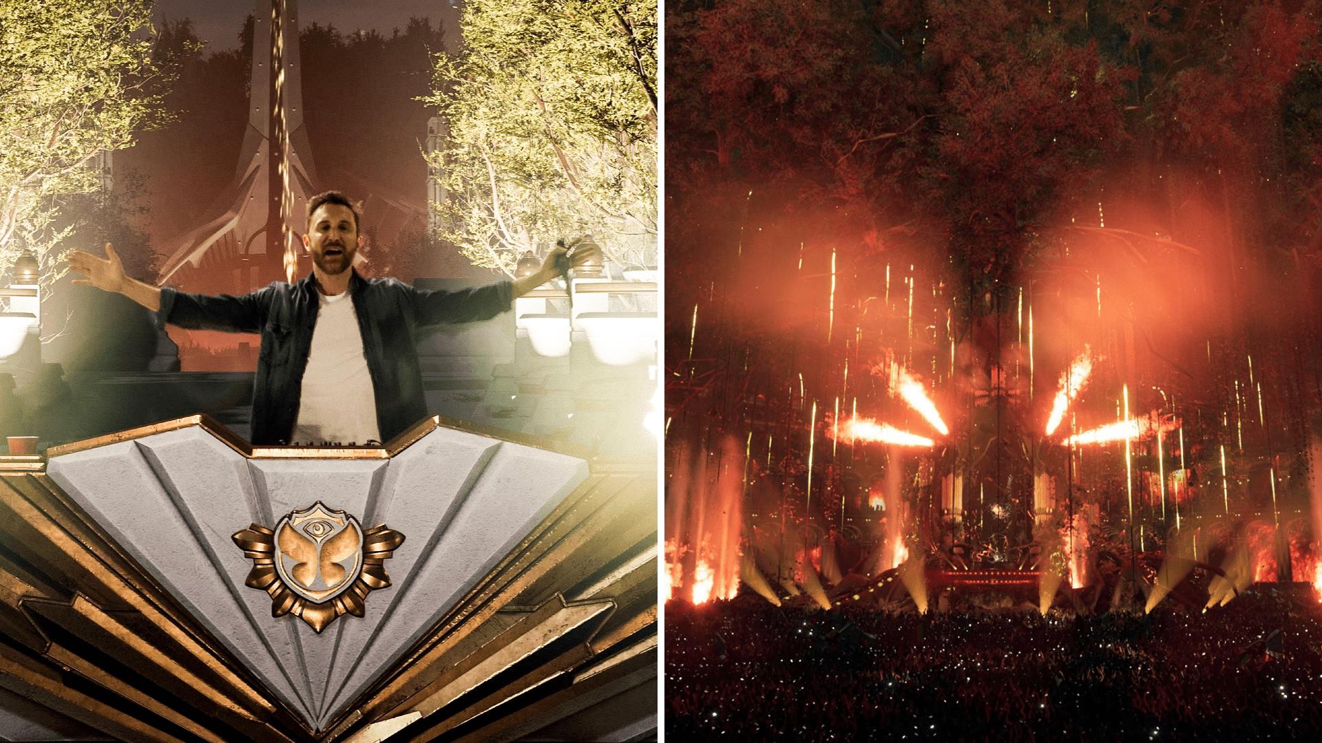 David Guetta at Tomorrowland NYE