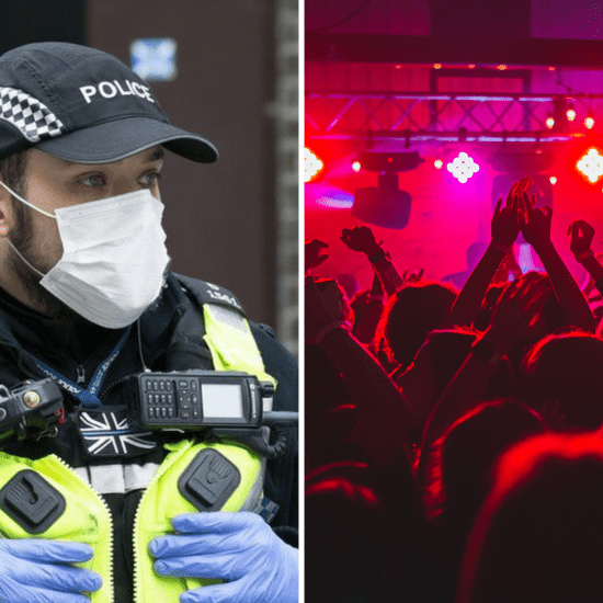 Police UK Partygoers