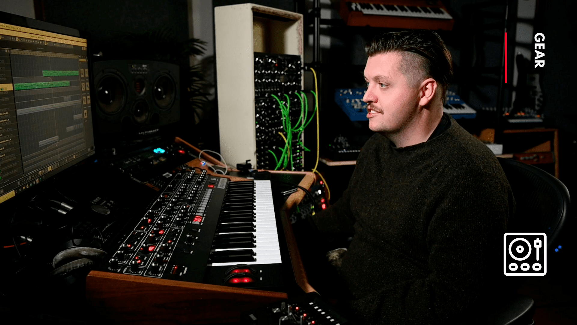 studio gear used by Flux Pavilion