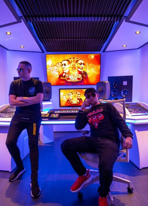 10 the best-looking music studios in the EDM world