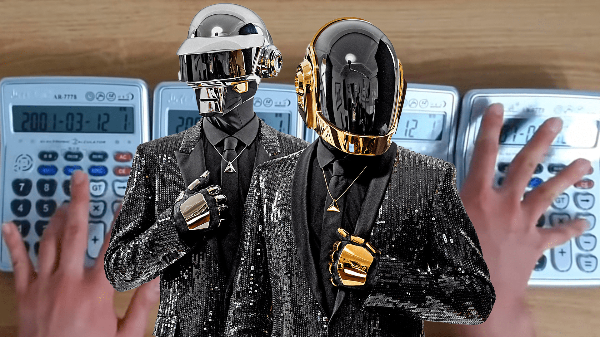 Calculator & Daft Punk