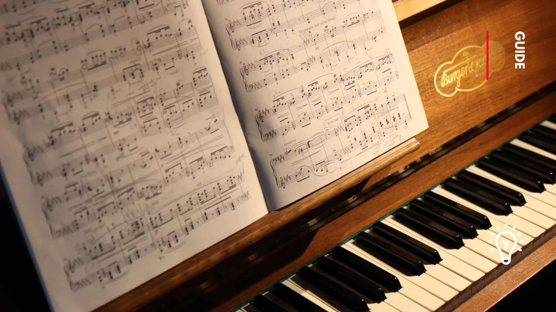 how to find key of song