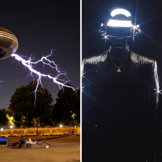 Daft Punk Tesla
