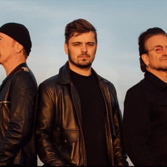 Martin Garrix U2 Bono The Edge
