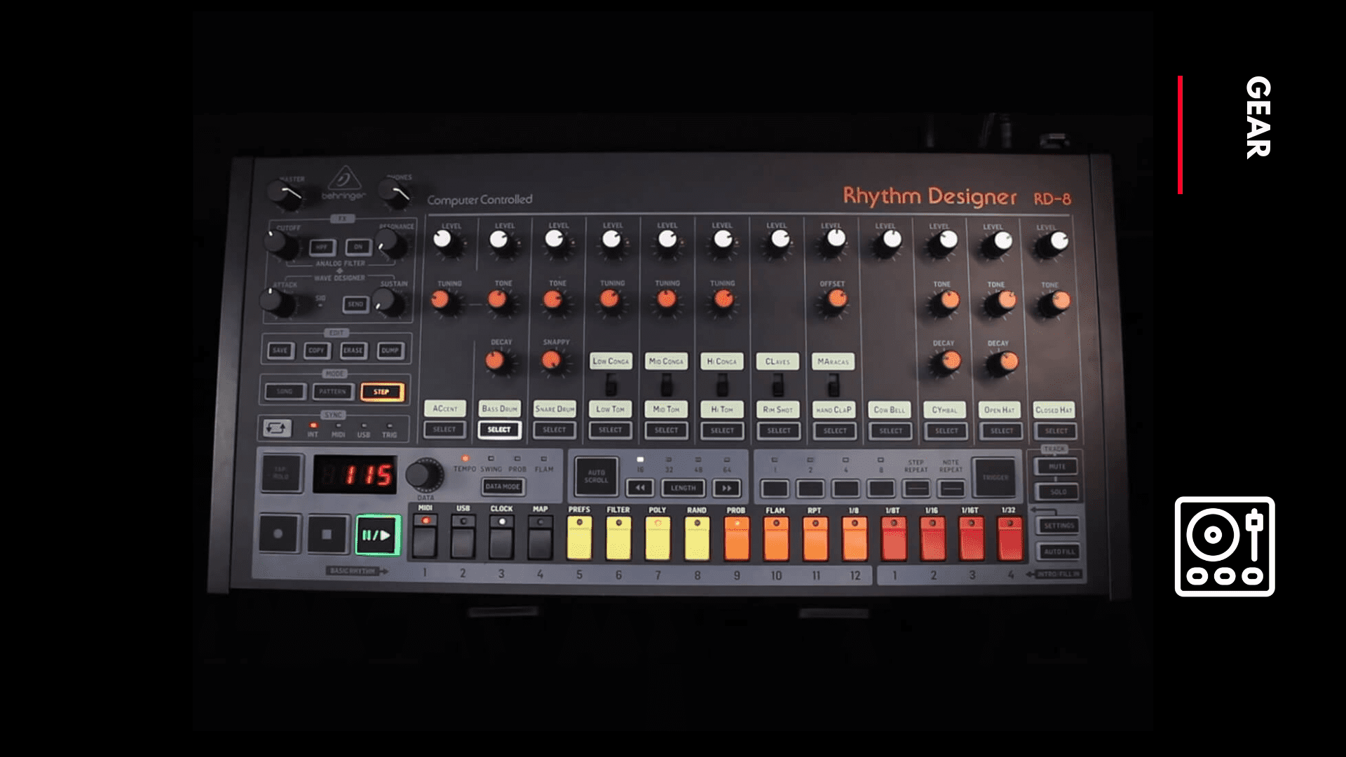 Behringer RD-8 MKII cover