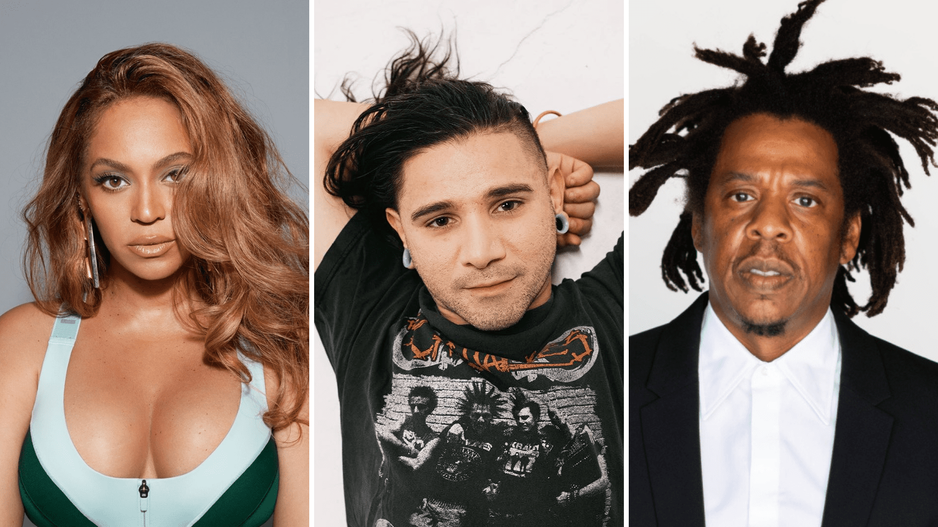Beyonce, Skrillex, Jay-Z