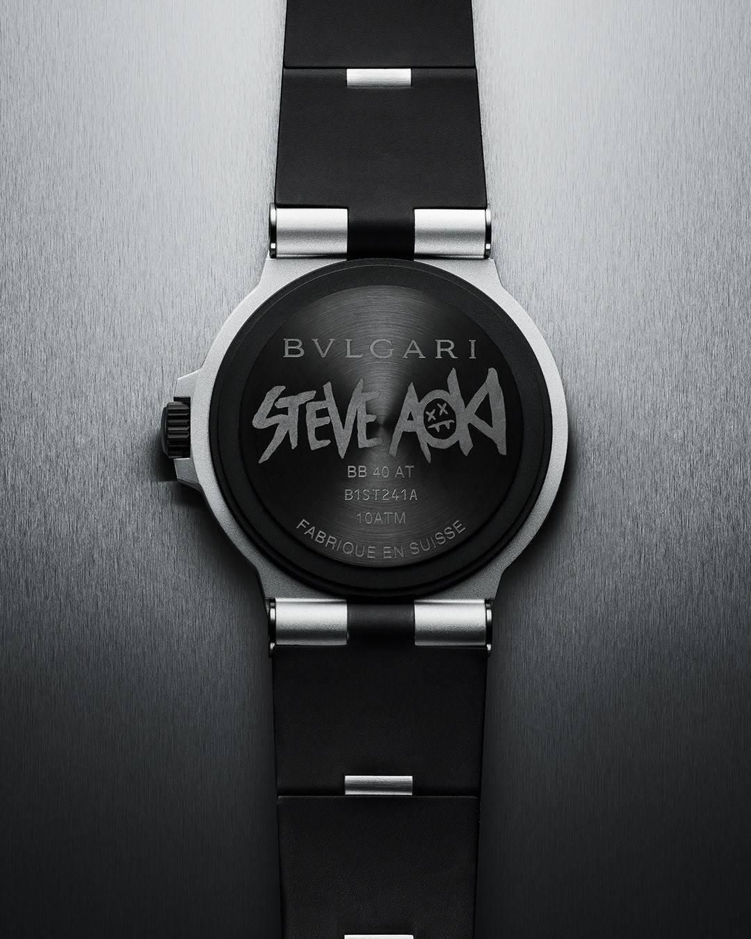 Steve Aoki.