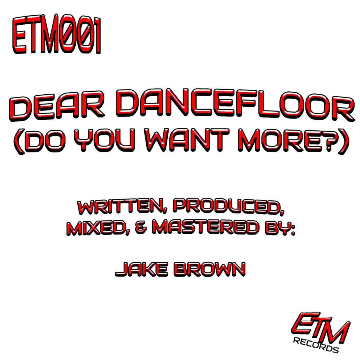 Dear Dancefloor (Artwork)