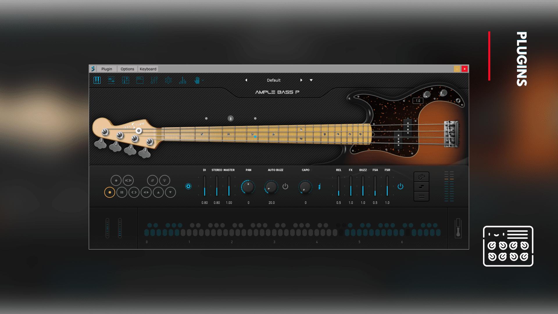ample bass p guitar plugin