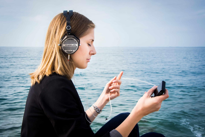 Listening to dance music