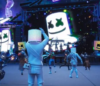 Marshmello Fortnite Music Concert