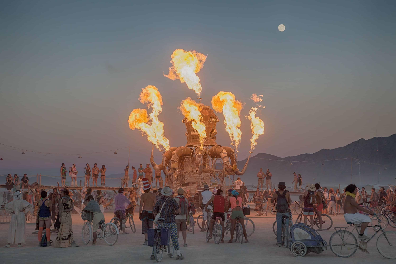 Burning Man auction