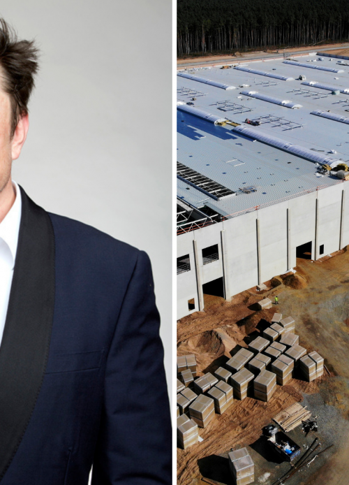 Elon Musk, Tesla Berlin Gigafactory