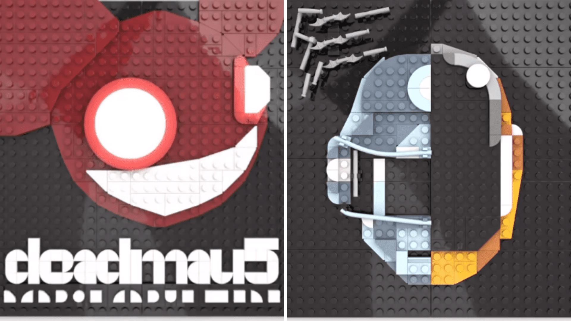 deadmau5, Daft Punk, Lego