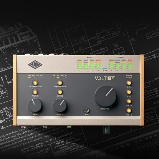 universal audio volt usb audio interfaces